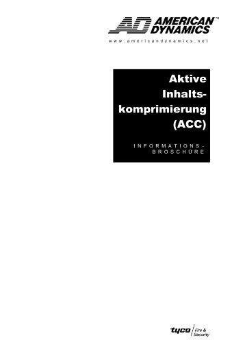 Active Content Compression - IP CCTV GmbH
