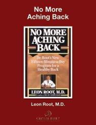 No More Aching Back - Global HELP