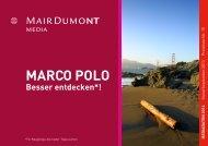 MARCO POLO Markenfamilie - MairDumont Media