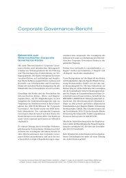 Corporate Governance Bericht (80 KB) - voestalpine
