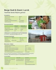 Berge Godt & Grønt i Larvik