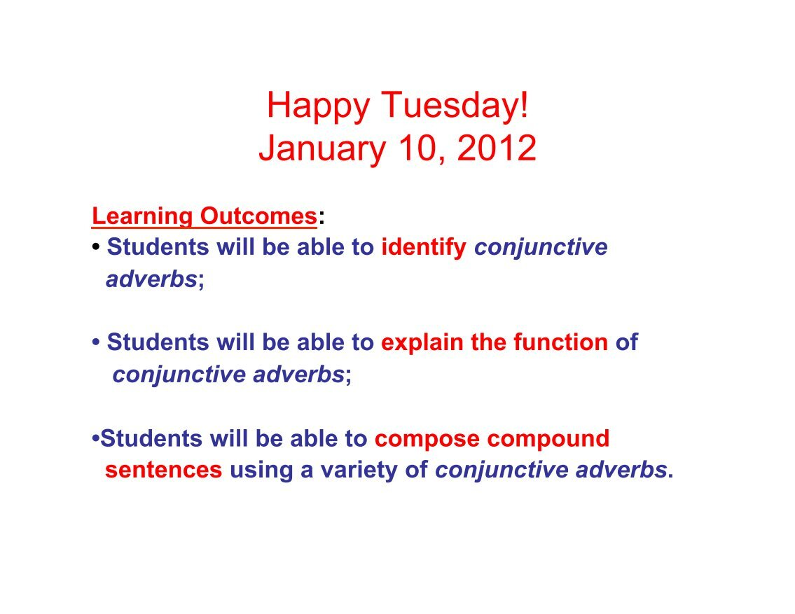worksheet Conjunctive Adverbs Worksheet 100 free magazines from vonsteuben org org