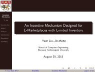 An Incentive Mechanism Designed for E-Marketplaces with Limited ...