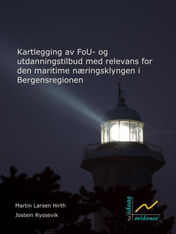 Kartlegging av FoU - Business Region Bergen