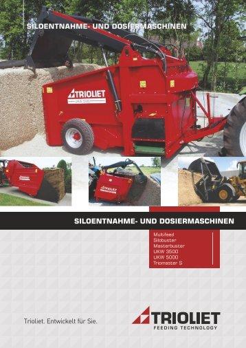 Broschüre Entnahme- und Verteilgeräte D - Trioliet