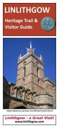 Linlithgow's Heritage Trail and Visitor Guide - Visit West Lothian