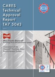 CARES Technical Approval Report TA7 5043 - UK CARES