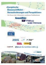Europäische Binnenschifffahrt – Herausforderungen und Perspektiven