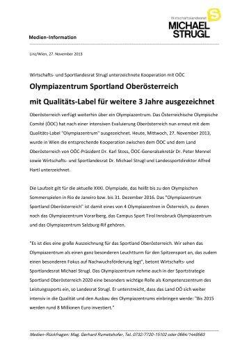 PDF-Dokument - Landesrat Michael Strugl