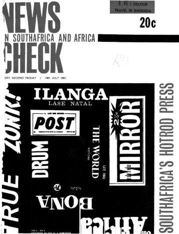 N SOUTHAFRICA AND AFRICA - newschecksa.info