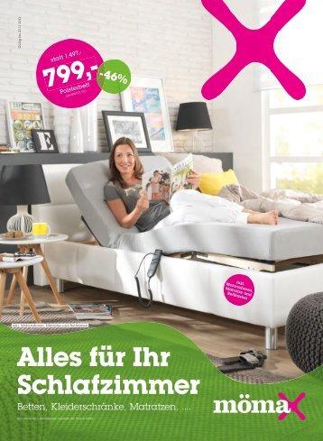 Alles für Ihr Schlafzimmer - Mömax
