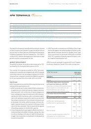APM Terminals Q1 2013 Report