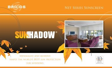 Net Series Sunscreen - Bricos Group