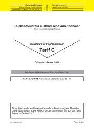 Tarif C (10409 kB, PDF) - Steuern St. Gallen