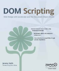 Page 2 DOM Scripting Web Design with JavaScript and the ...