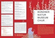 Ausgabe Nr. 42 April 2012 - Bündner Naturmuseum