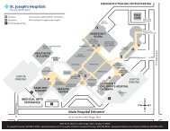 Campus Map - St.Joseph's Hospital