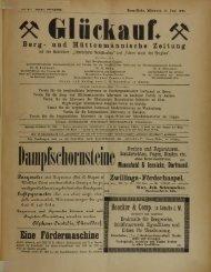 Berg- und Hüttenmännische Zeitung Munscheid & Jeeniche ...