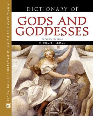 Dictionary Of God And Godedesses