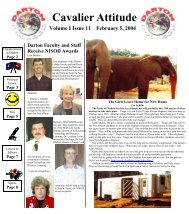 Cavalier Attitude - Darton College