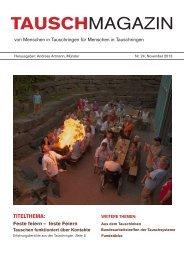 Als PDF-Datei downloaden - Tauschmagazin