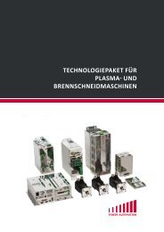 TeCHnOLOGIePAkeT FüR PLASmA - PA Power Automation AG