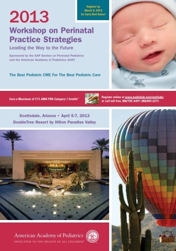 Workshop on Perinatal Practice Strategies - American Academy of ...