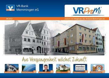 Ausgabe in PDF - VR-Bank Memmingen eG