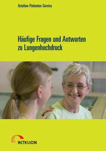 Häufige Fragen und Antworten zu Lungenhochdruck - Actelion ...
