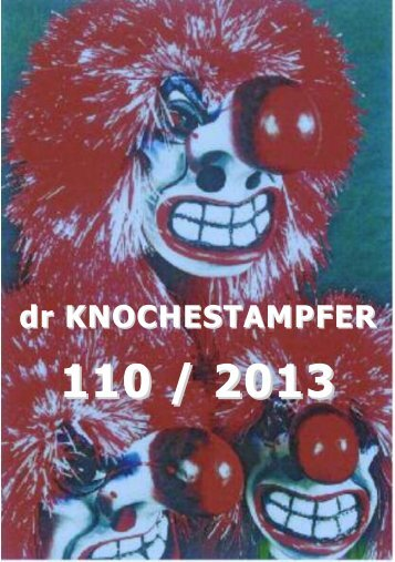 Bulletin Nr. 110/13 - Knochestampfer