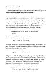 Meine Rede zum Nachlesen - Guido Wolf