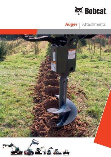 Auger | Attachments - Bobcat