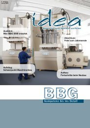 idea idea - BBG GmbH & Co. KG
