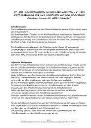 ST. SEB. SCHÜTZENVEREIN DÜSSELDORF-WERSTEN e.V. 1925 ...