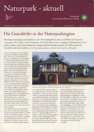 Naturpark-aktuell April 2008 - Karower Meiler