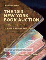 the 2013 new york book auction - Kolbe & Fanning Numismatic ...