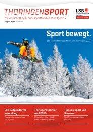Sport bewegt. - Landessportbund Thüringen e.V.