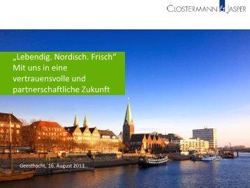 3.1 Umsatzsteuer - Clostermann & Jasper
