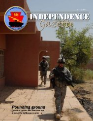 Independence Gazette - Military News Network