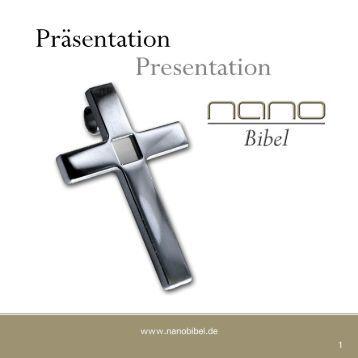 Download Katalog (deutsch-englisch) - NanoBibel