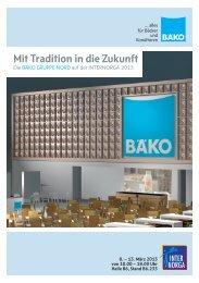 Mit Tradition in die Zukunft - BÄKO Gruppe Nord