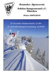 Deutscher Alpenverein Sektion Kampenwand e.V. München