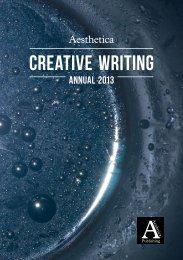 Creative-Writing-201.. - Aesthetica