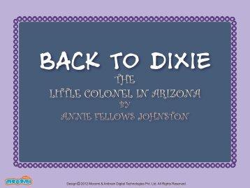 THE LITTLE COLONEL IN ARIZONA - Mocomi.com