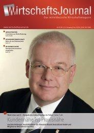 Ausgabe 01/13 - Wirtschaftsjournal