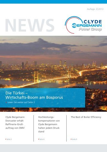 Die Türkei – Wirtschafts-Boom am Bosporus - Clyde Bergemann ...