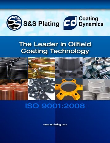 ISO 9001:2008 - S&S Plating