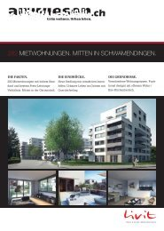 282 mietwohnungen. mitten in schwamendingen. - Stephan Wegelin
