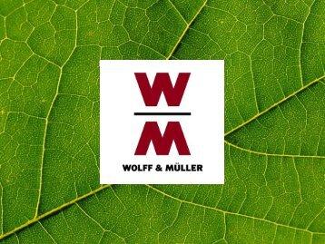 WOLFF & MÜLLER Green Thinking bei WOLFF ... - sia-projekt