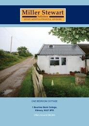 ONE BEDROOM COTTAGE 1 Bourtree Bank Cottage ... - GSPC